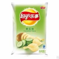 乐事薯片(新老包装随机发货)70克/80克黄瓜味单袋