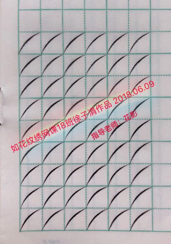 零基础学纹绣,加微信446205000会拉你进入绿色纹绣交流群(无广告
